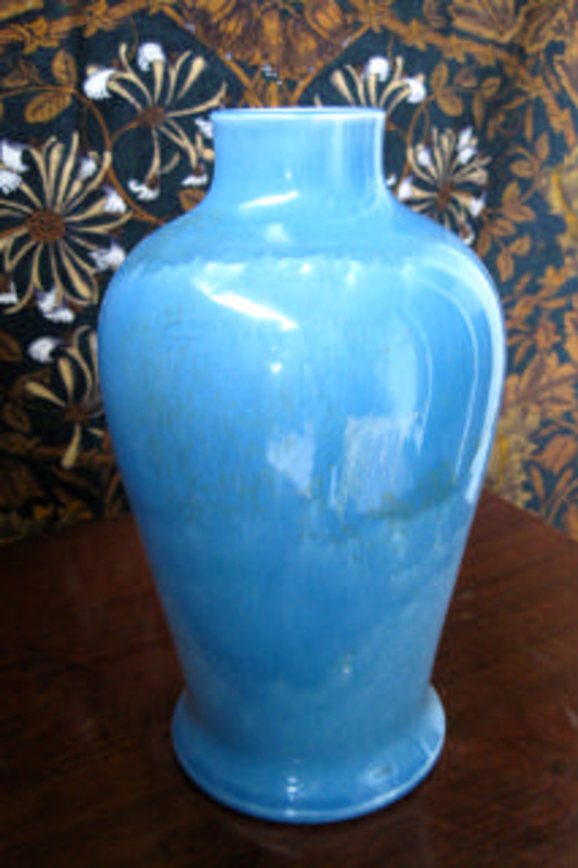 Vase William Howson Taylor Ruskin Pottery 1906 On Ehive