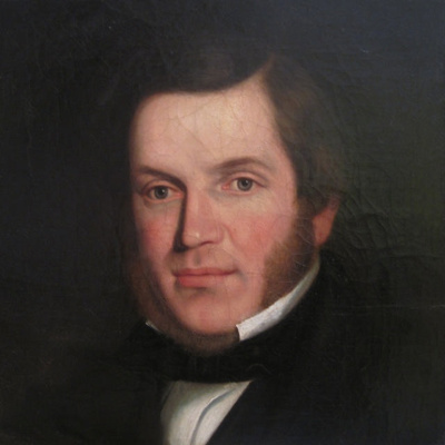 Portrait of an Gentleman; Artist unknown; c1835