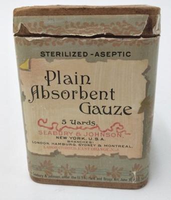 Chemical: Seabury's Standard Gauzes; Ca 1906; AR#1523