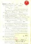 Nursing: Papers relating to Nurse Ella Trestrail; c. 1917; AR#1746