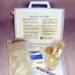 Haemaccel First Aid Box; 1980's; AR#2011.9 StJ