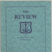 Booklet:  'Adelaide Medical Students' Society' 'The Review'.   'The Sir Joseph Cooke Verco Memorial Number' ; 1933; AR#4874