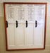 Signs:  Gynaecology Memorial Board; 1900-1990; AR#1675