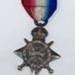 Captain C. T. Turner AMC, 1914-15 Star Medal; ca 1918; AR#151
