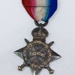 Captain C. T. Turner AMC, 1914-15 Star Medal; ca 1918; AR#151