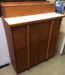 Equipment:  Dental Cabinet with White Laminate Top; Ca 1950; AR#3593