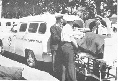 General Staff - 'Arrival of a Patient at Hospital'; 1956; 6.6.1.2