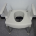 Equipment: Bedside commode chair; 1980-2000; TQEH#404