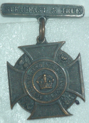 Badge: Royal British Nurses Association  ; C1938; AR#130
