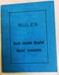 Document:  Rules of Royal Adelaide Hospital Nurses' Association; 1940; AR#8407
