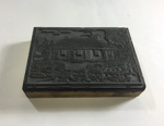 Artwork: Printing block stamp of the Adelaide Hospital 1843; Ca 20th Century; AR#765