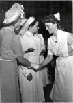 Nurse: First Graduation Ceremony in Bonython Hall; 1947 December; 4.1B.86