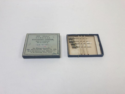 Medical equipment: Surgical Hypodermic Needles; AR#1438
