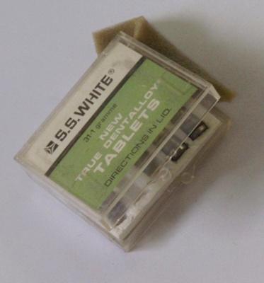 Dental: New True Dentalloy Tablets; c1975; AR#1889