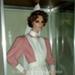 Heritage Uniform collection: Probationer Nurse's Uniform, ca. 1890 – 1920s (Replica) on Mannequin, Presented in Glass Cabinet; c. 1986; AR#5192