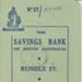 Book:  Adelaide Hospital Chapel Fund:  Depositor's Passbook; Ca 1960; AR#663