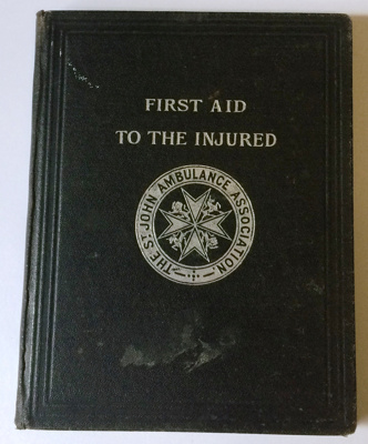 Book:  First aid to the injured; 1896; AR#461