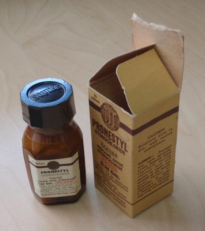 Chemicals: Pronestyl Hydrochloride