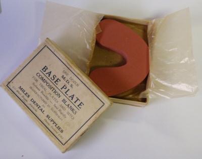 Dental: Composition Base Plates; Ca 1955; AR#1883