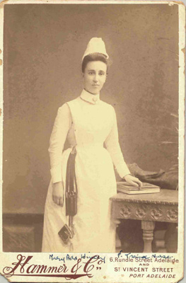 Nurse:  Trainee Nurse Mary Ada Wincey; 1890; 4.2.2