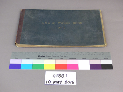 Record book; Unknown; Unknown; 4180.1