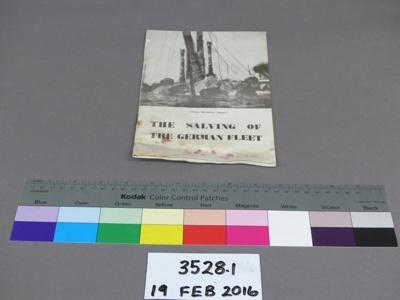 Booklet; Unknown; Unknown; 3528.1