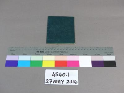 Booklet; Unknown; Unknown; 4540.1