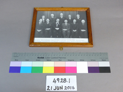 Framed photograph; Unknown; Unknown; 4928.1