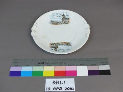 Plate; Unknown; Unknown; 3711.1