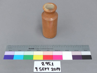 Bottle; Doulton & Co. Ltd; Unknown; 295.1
