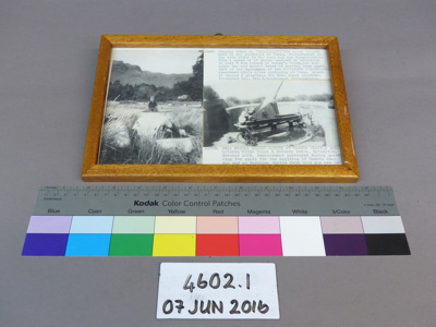 Framed photograph; Unknown; Unknown; 4602.1