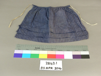 Apron; Unknown; Unknown; 3843.1