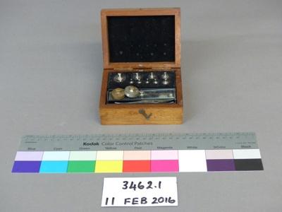 Weight set; Unknown; Unknown; 3462.1
