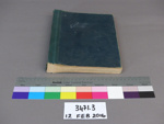 Correspondence book; Unknown; Unknown; 3471.3