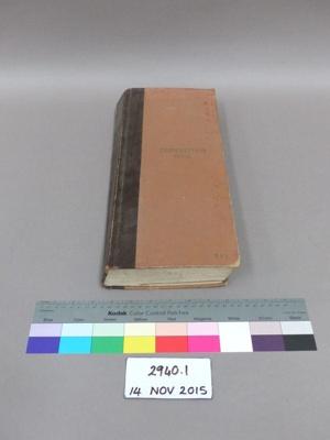 Prescription book; Unknown; Unknown; 2940.1