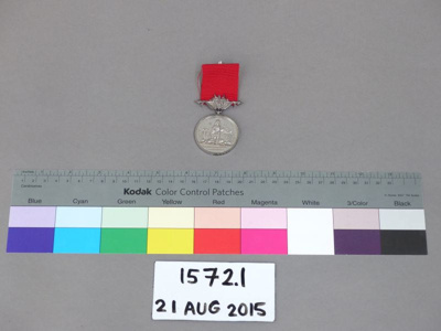 Medal; Unknown; Unknown; 1572.1