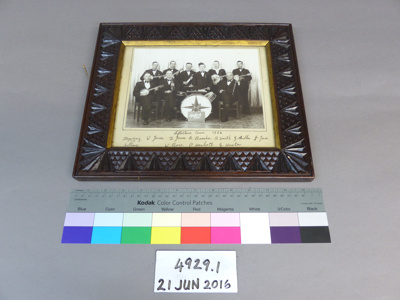 Framed photograph; Unknown; Unknown; 4929.1