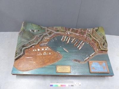 Model; Cyrus J.R. Williams, MInstCE, Engineer to the Lyttelton Harbour Board?; Unknown; 85.1