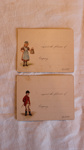 Invitation cards; Unknown; ca 1900; KMBS 1016.1