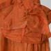 Woman's orange silk dress; KMBS 1070.1
