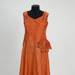Woman's orange silk dress; KMBS 1070.1