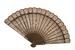 Wooden hand fan; ca 1900; KMBS 1067.3
