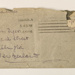 Letter to Lulu Dyer; Kathleen Mansfield Beauchamp (Katherine Mansfield); 31/8/1906; KMBS 1072.6