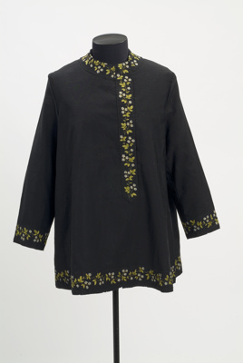 Silk tunic; early 20th century; KMBS 0018.1