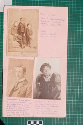 Photograph-Album Page - Laughton Family Photographs; Gwenda Elizabeth Donaldson; 6.11.1