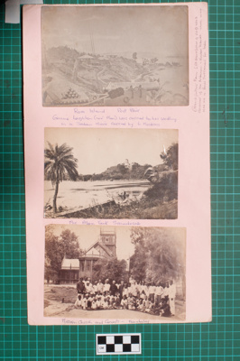 Photograph-Album Page - Burma and Port Blair; Gwenda Elizabeth Donaldson; c. 1860; 6.2.2