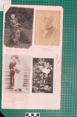 Photograph-Album Page - Laughton/Man Family Photographs; Gwenda Elizabeth Donaldson; 6.10.1