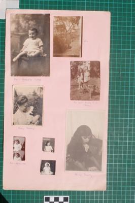 Photograph-Album Page - Laughton Family Photographs; Gwenda Elizabeth Donaldson; 6.13.1