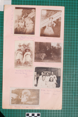Photograph-Album Page - Mitchell Family Photographs; Gwenda Elizabeth Donaldson; 6.6.2