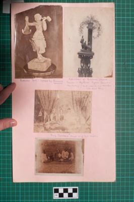 Photograph-Album Page - Laughton Burmese Photographs; Gwenda Elizabeth Donaldson, Arthur Frederick Laughton; 1856; 6.4.1